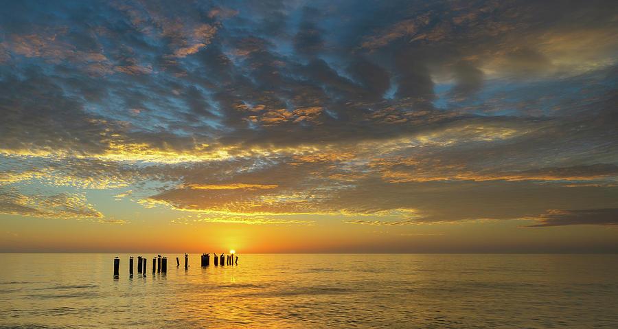 sunset by Bill Martin