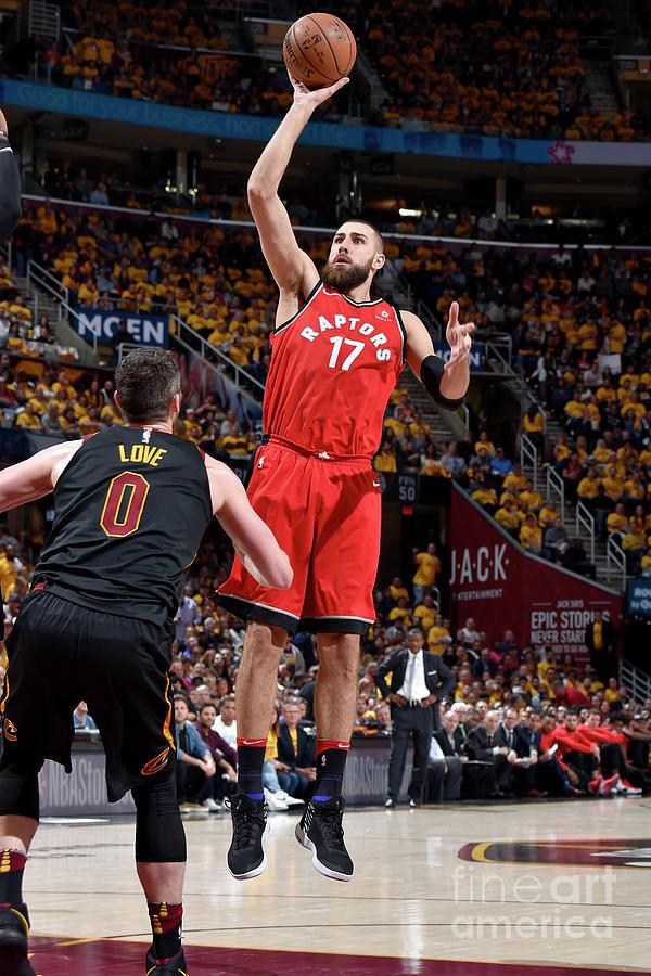 Toronto Raptors V Cleveland Cavaliers - Photograph by David Liam Kyle
