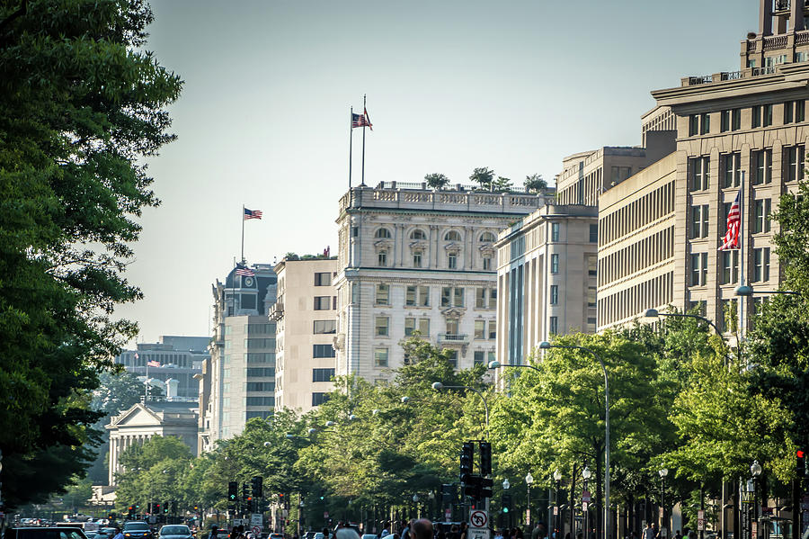 Washington dc city streets and historic architecture by ALEX GRICHENKO