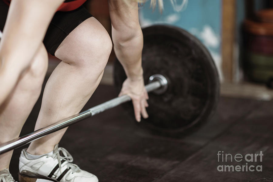 Weightlifting Photograph - Weightlifting by Microgen Images/science Photo Library