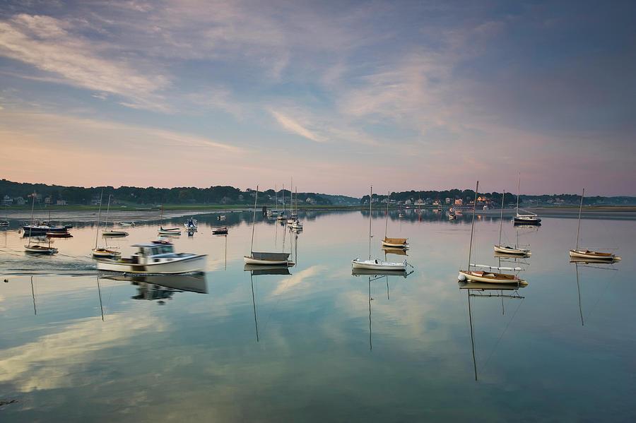 Usa, Massachusetts, Cape Ann Photograph by Walter Bibikow