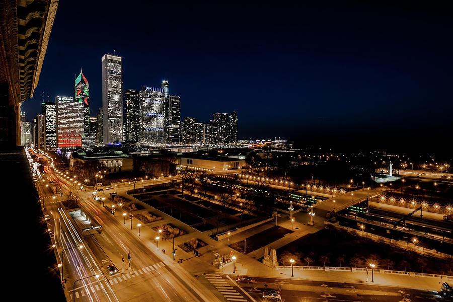10th floor view of Chicago skyline by Sven Brogren