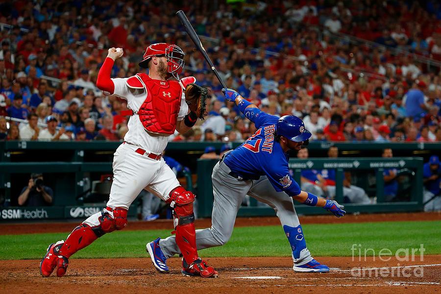 Chicago Cubs V St Louis Cardinals Photograph by Dilip Vishwanat