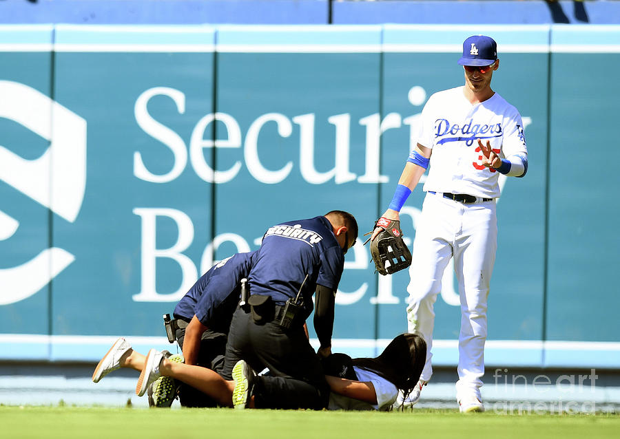 Colorado Rockies V Los Angeles Dodgers Photograph by Harry How
