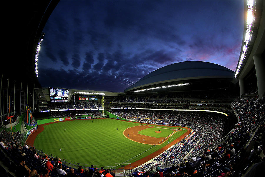 Colorado Rockies V Miami Marlins Photograph by Mike Ehrmann
