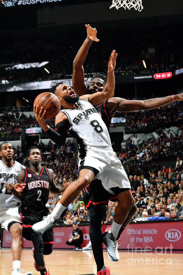 Houston Rockets V San Antonio Spurs - Photograph by Jesse D. Garrabrant