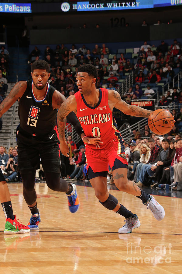 La Clippers V New Orleans Pelicans Photograph by Layne Murdoch Jr.