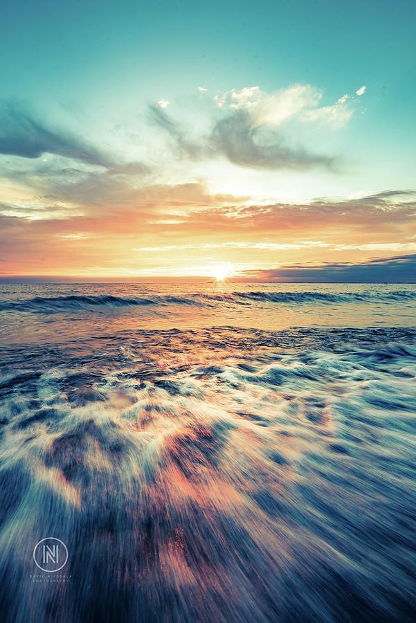 Hamburg Photograph - Lake Erie Sunset by Dave Niedbala