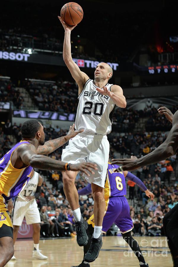 Los Angeles Lakers V San Antonio Spurs Photograph by Mark Sobhani
