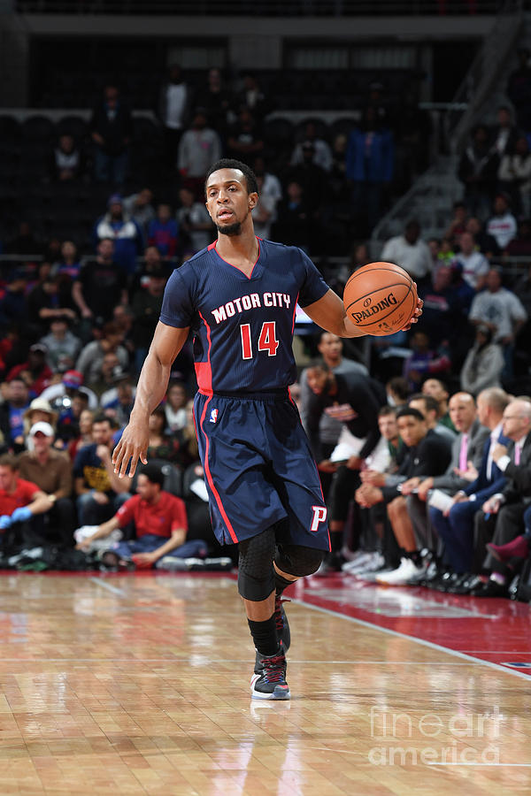 Milwaukee Bucks V Detroit Pistons Photograph by Chris Schwegler