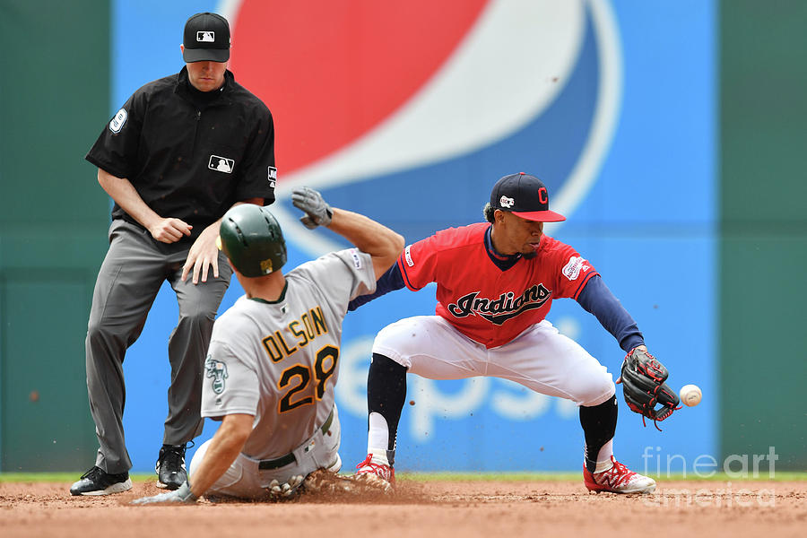 Oakland Athletics V Cleveland Indians Photograph by Jason Miller