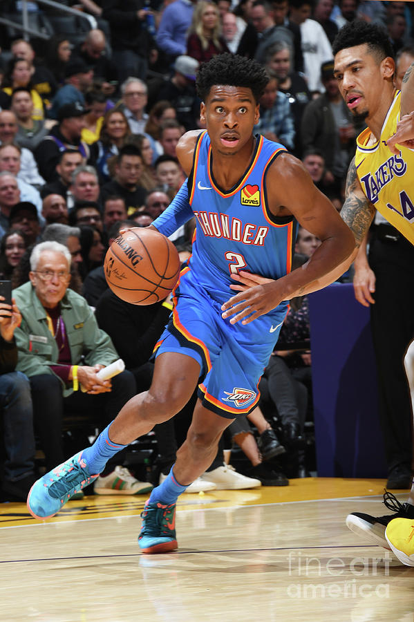 Oklahoma City Thunder V Los Angeles Photograph by Andrew D. Bernstein