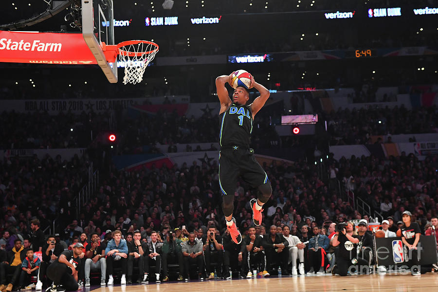 Verizon Slam Dunk Contest 2018 Photograph by Jesse D. Garrabrant