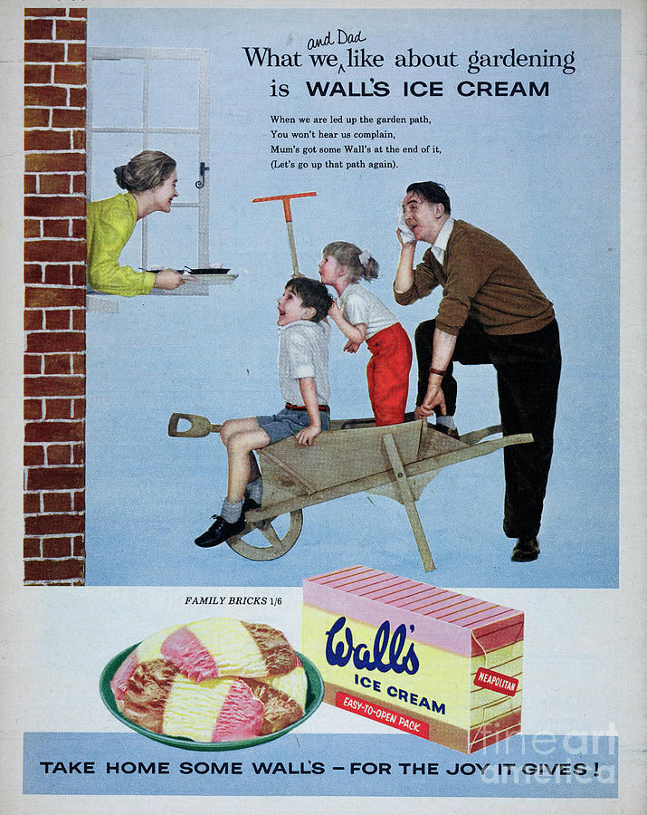 Walls Ice Cream Photograph by Picture Post