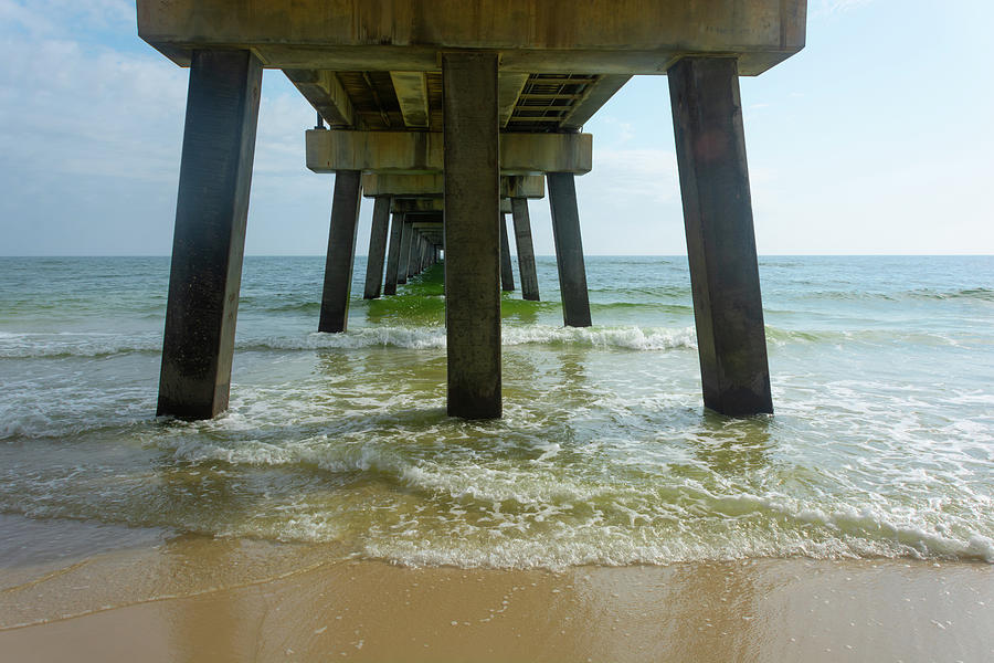11068 Gulf Shores Pier by Pamela Williams