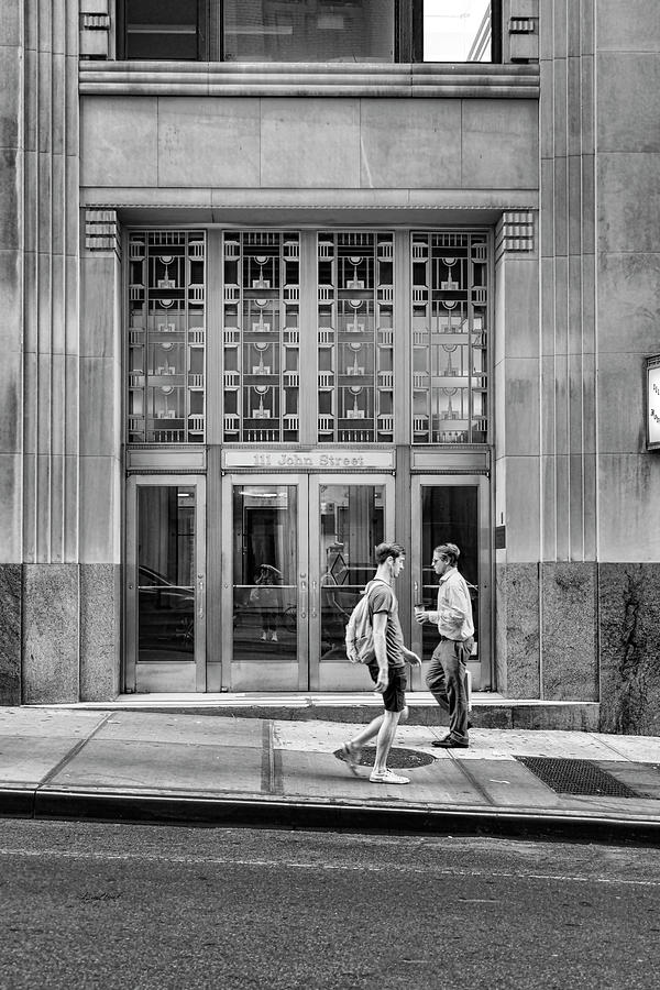 Doorway Photograph - 111 John Street by Sharon Popek