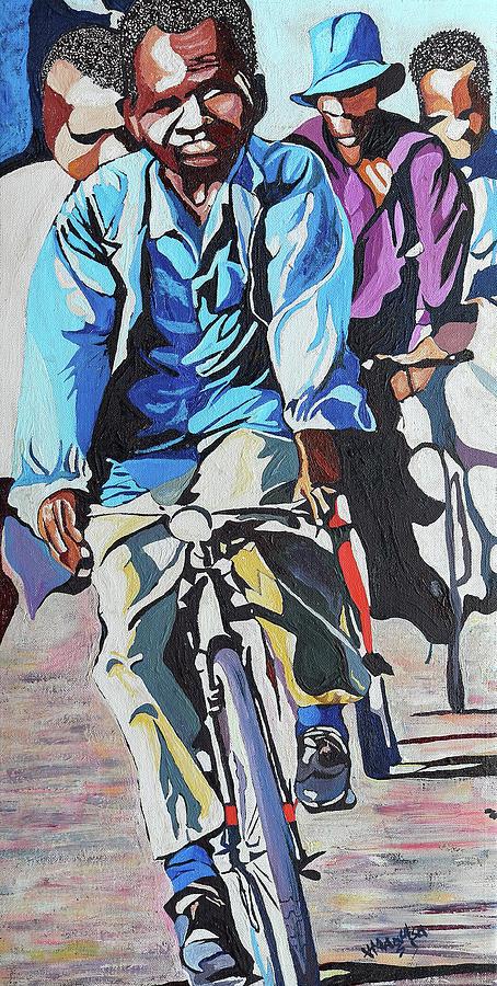 Cycling Abstract Art