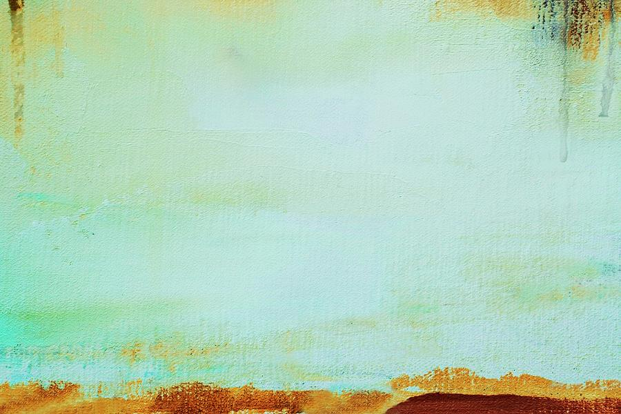Abstract Painted Green Art Backgrounds