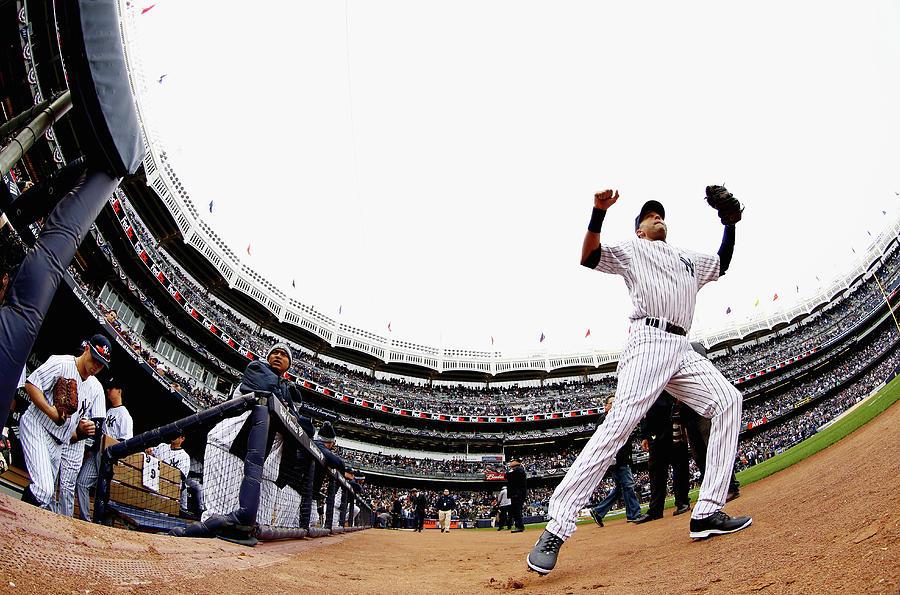 Baltimore Orioles V New York Yankees 12 Photograph by Al Bello