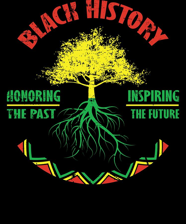 12 African American Cheerleading Images From The Past: Black History Month African Pride Apparel Gift Digital Art