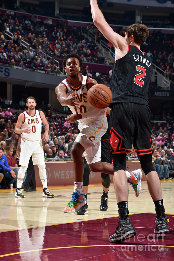 Chicago Bulls V Cleveland Cavaliers Photograph by David Liam Kyle