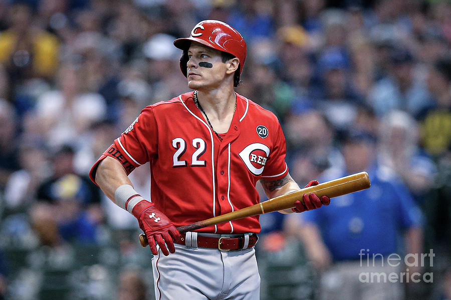 Cincinnati Reds V Milwaukee Brewers 12 Photograph by Dylan Buell