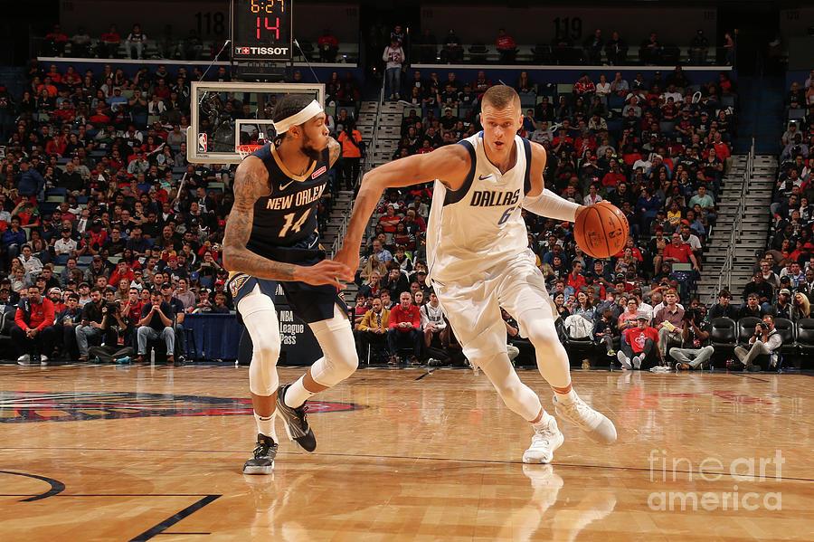 Dallas Mavericks V New Orleans Pelicans Photograph by Layne Murdoch Jr.
