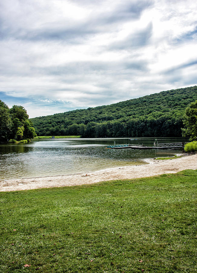 Hunting Photograph - Hunting Creek Lake In Cunningham Falls State Park - Maryland by Brendan Reals