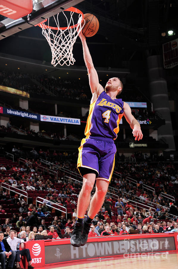 Los Angeles Lakers V Houston Rockets Photograph by Bill Baptist