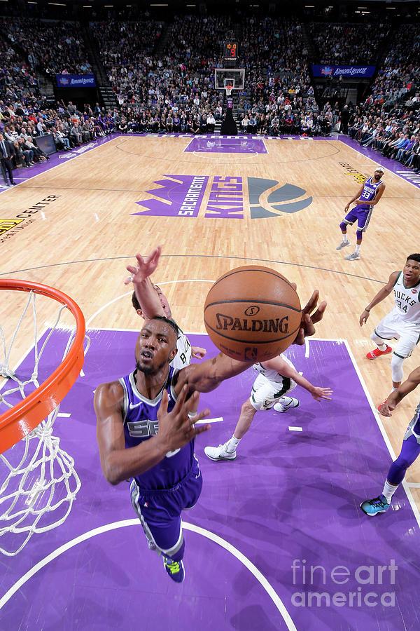 Milwaukee Bucks V Sacramento Kings Photograph by Rocky Widner