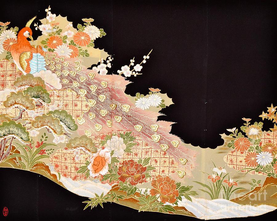 Spirit of Japan T74 Digital Art by Miho Kanamori