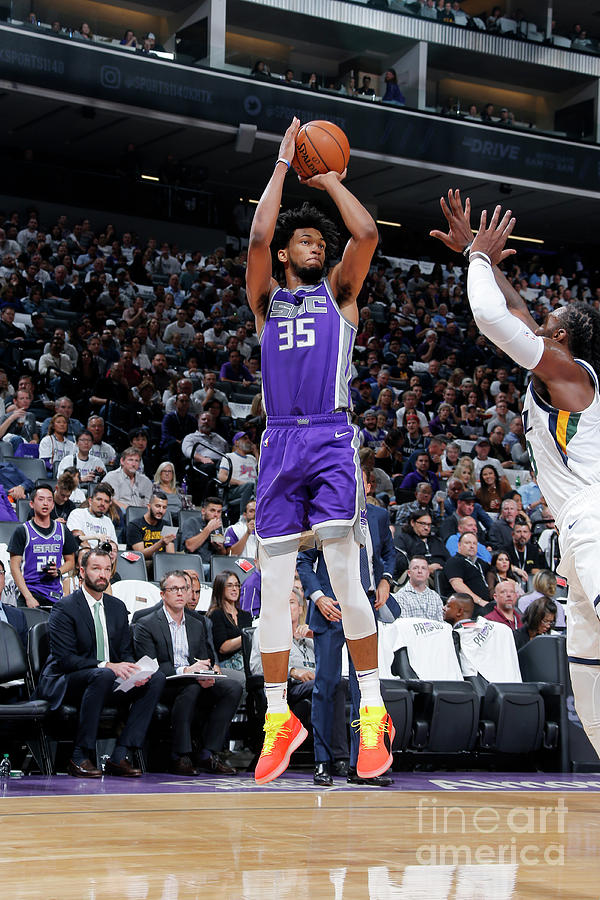 Utah Jazz V Sacramento Kings Photograph by Rocky Widner