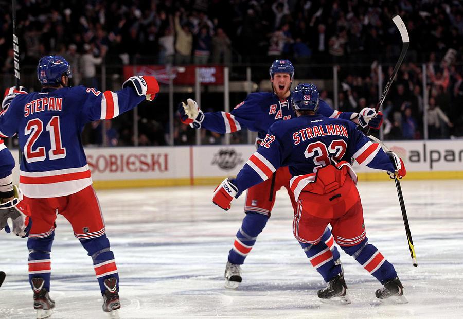 Washington Capitals V New York Rangers Photograph by Bruce Bennett