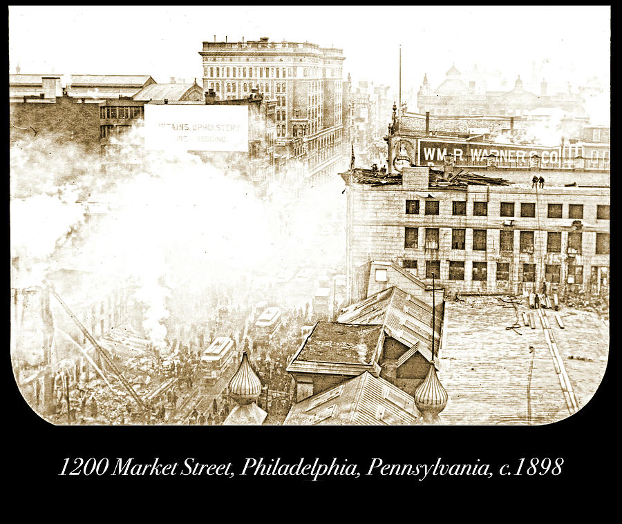 1200 Market Street, Philadelphia, Pennsylvania, c.1898 by A Gurmankin