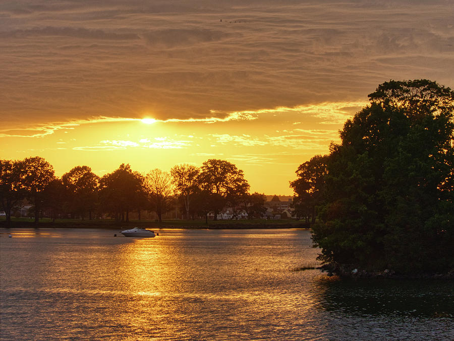Danvers River Sunset by Scott Hufford