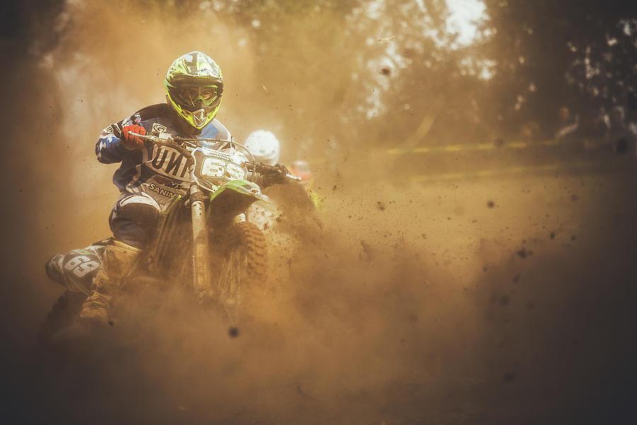 Motorbike Photograph -  by Carlos Gonzalez