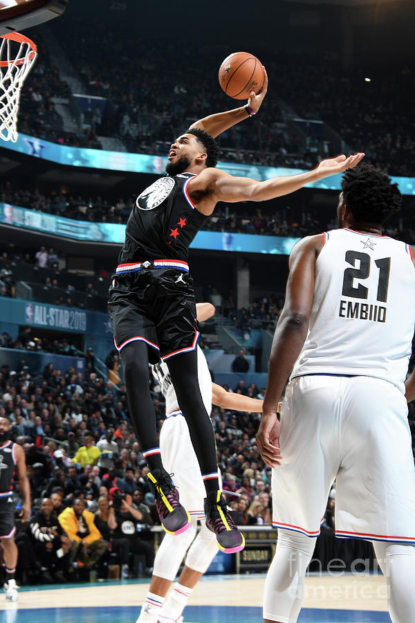2019 Nba All-star Game Photograph by Andrew D. Bernstein