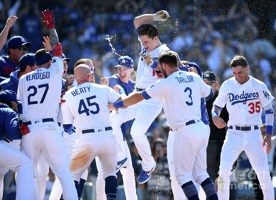 Colorado Rockies V Los Angeles Dodgers 13 Photograph by Harry How
