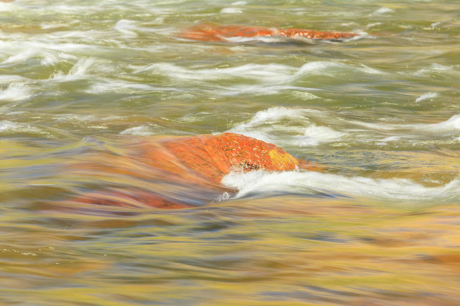 Abstract Photograph - Lower Deschutes River, Central Oregon by Stuart Westmorland