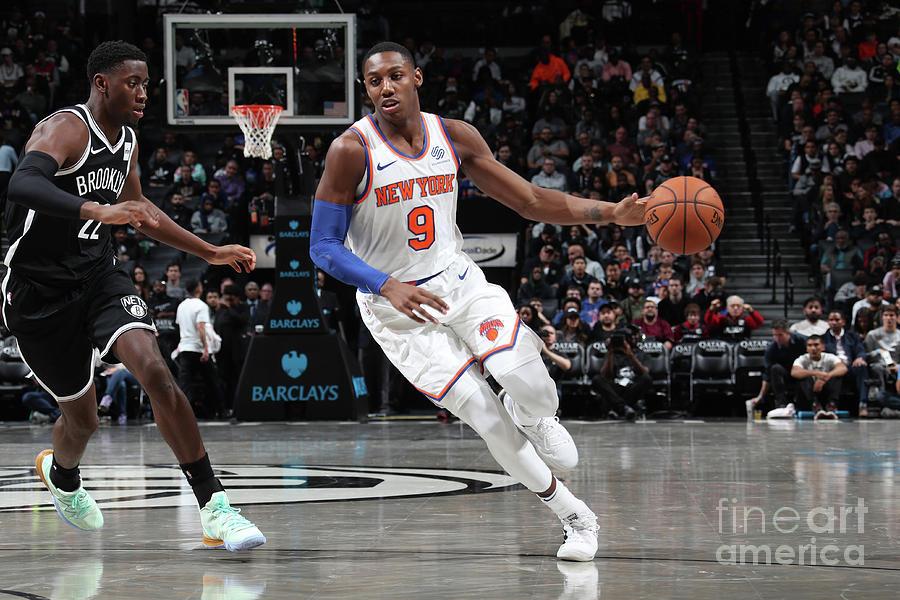 New York Knicks V Brooklyn Nets Photograph by Nathaniel S. Butler