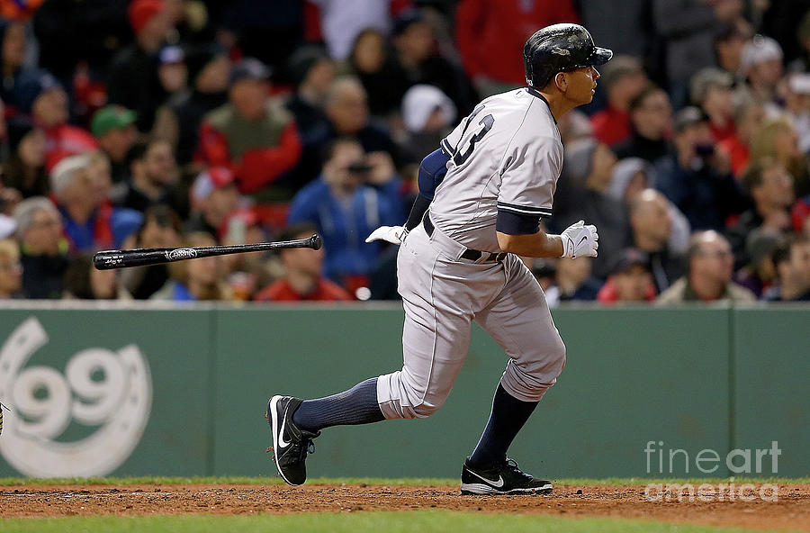 New York Yankees V Boston Red Sox Photograph by Jim Rogash