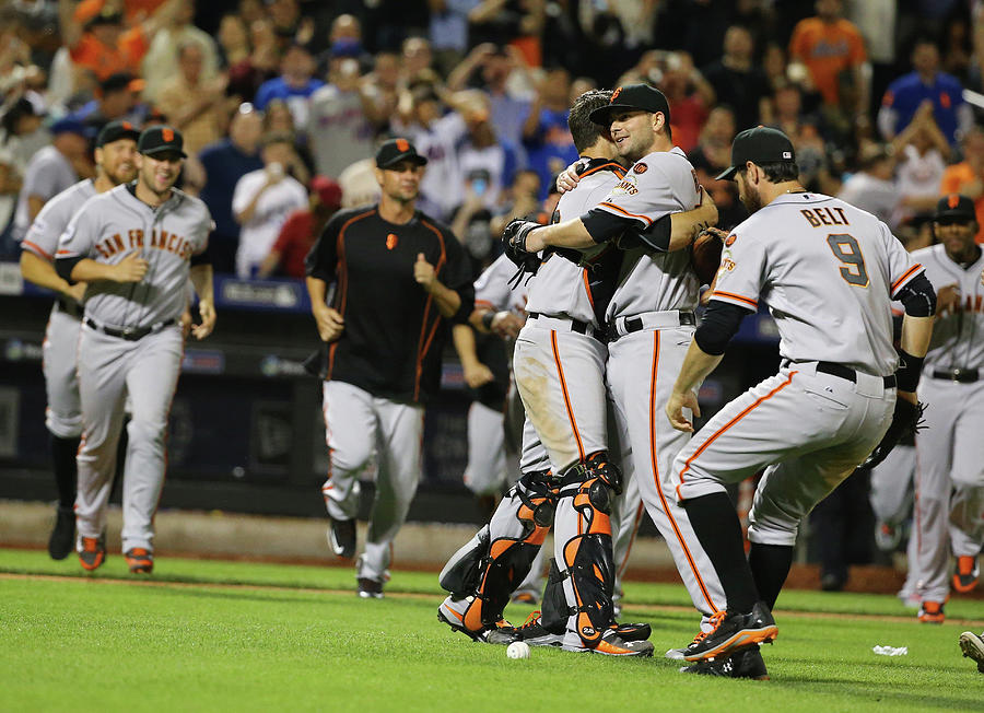 San Francisco Giants V New York Mets 13 Photograph by Al Bello