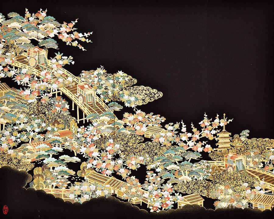 Spirit Of Japan T73 Digital Art by Miho Kanamori