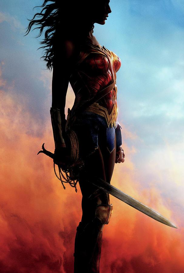 Wonder Woman Digital Art - Wonder Woman by Geek N Rock