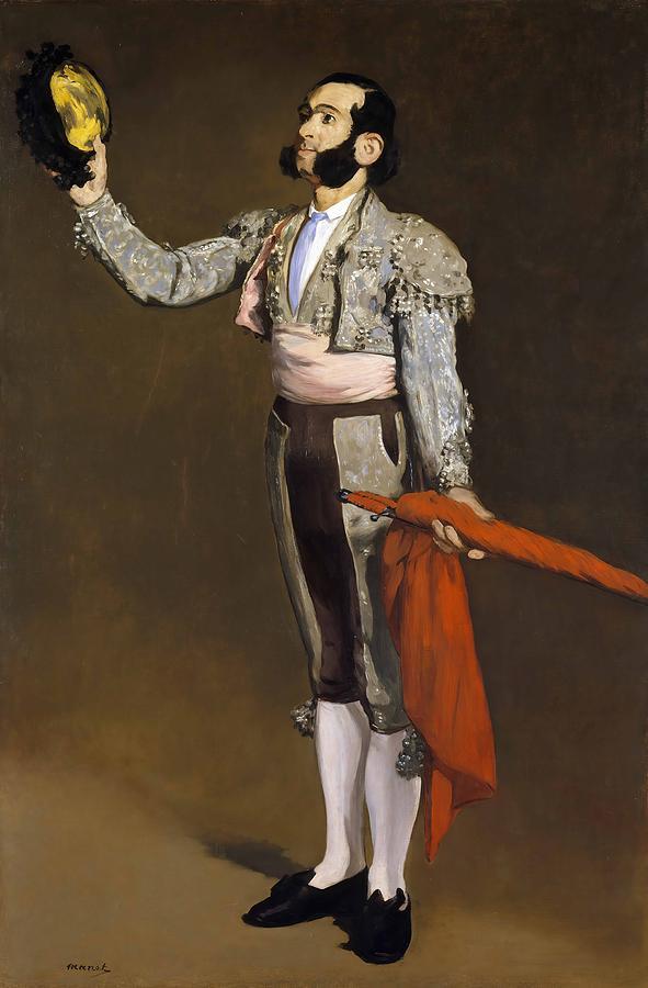 Edouard Manet Painting - A Matador  by Edouard Manet
