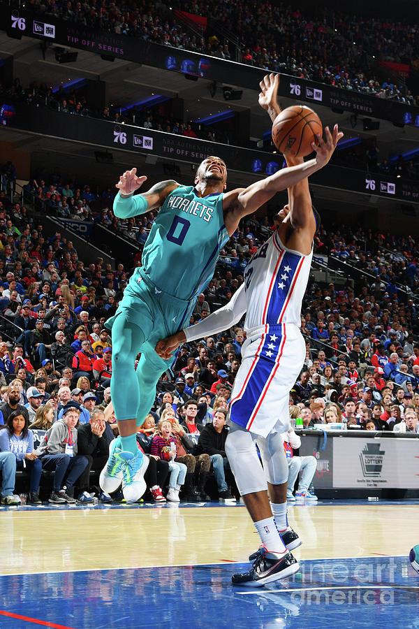Charlotte Hornets V Philadelphia 76ers Photograph by Jesse D. Garrabrant