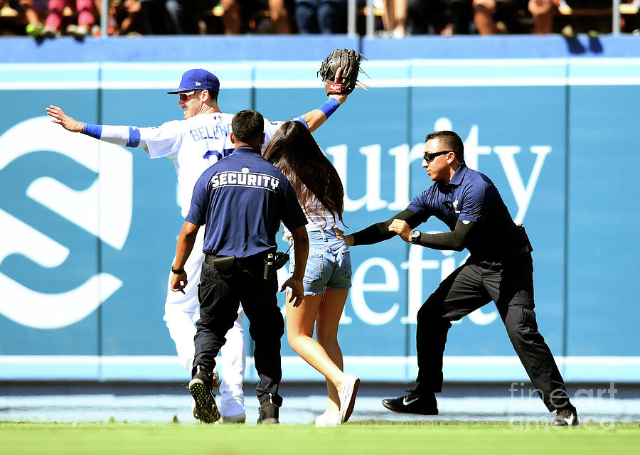 Colorado Rockies V Los Angeles Dodgers 14 Photograph by Harry How