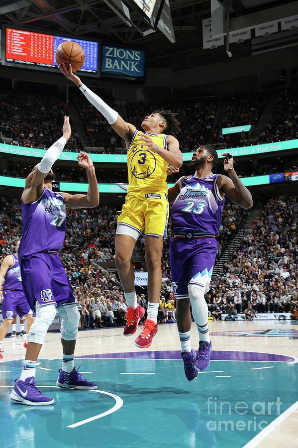 Golden State Warriors V Utah Jazz Photograph by Melissa Majchrzak