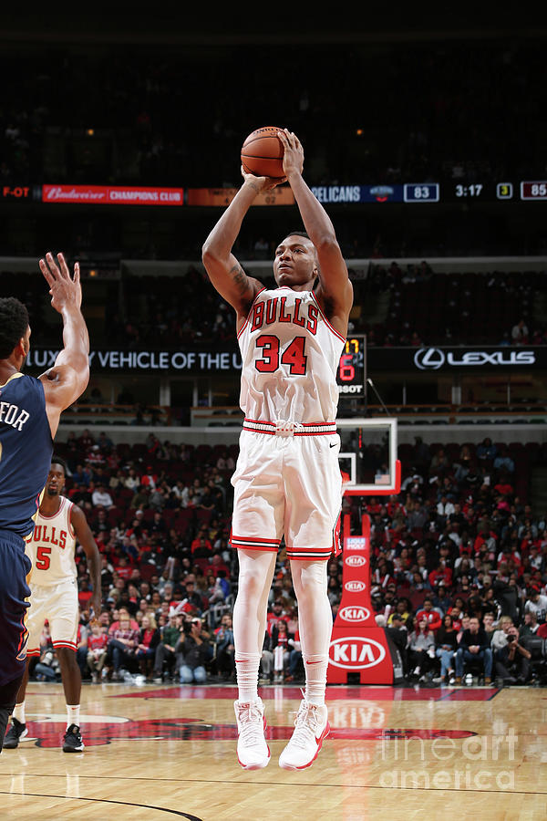 New Orleans Pelicans V Chicago Bulls Photograph by Gary Dineen