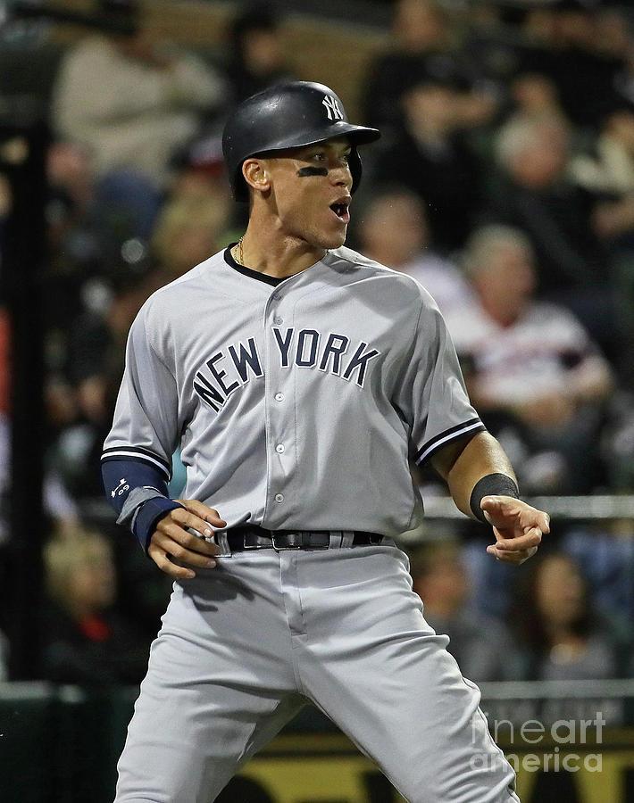 New York Yankees V Chicago White Sox Photograph by Jonathan Daniel